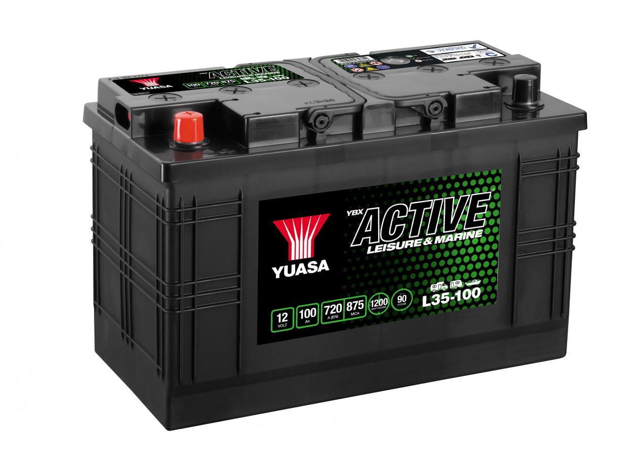 Batterie Yuasa Leisure L35-100 12V 100Ah 700A