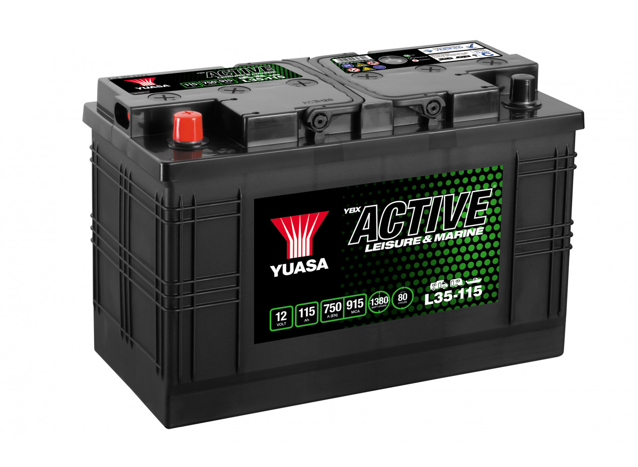 Batterie Yuasa Leisure L35-115 12V 115Ah 750A