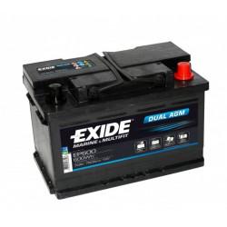 Aperçu du produit BATTERIE EXIDE DUAL AGM EP600 12V 70AH 760A