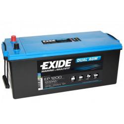 Aperçu du produit BATTERIE EXIDE DUAL AGM EP1200 12V 140AH 700A