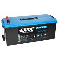 Aperçu du produit BATTERIE EXIDE DUAL AGM EP2100 12V 240AH 900A