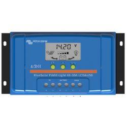 CONTROLEUR DE CHARGE VICTRON ENERGY BLUESOLAR PWM LCD&USB 12/24V 30A