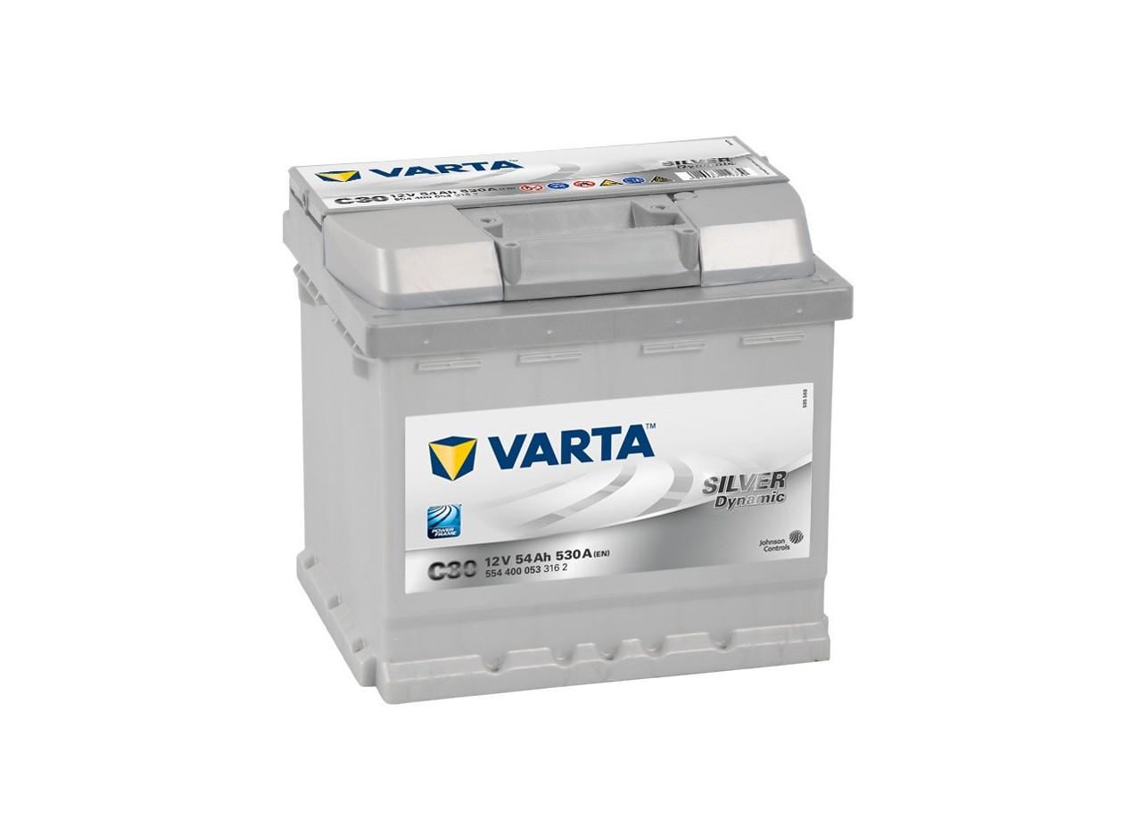 Aperçu du produit BATTERIE VARTA SILVER DYNAMIC C30 12V 54AH 530A