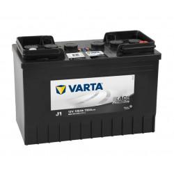 Aperçu du produit BATTERIE VARTA PROMOTIVE BLACK J1 12V 125AH 720A