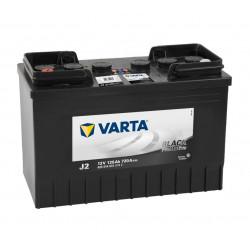 Aperçu du produit BATTERIE VARTA PROMOTIVE BLACK J2 12V 125AH 720A