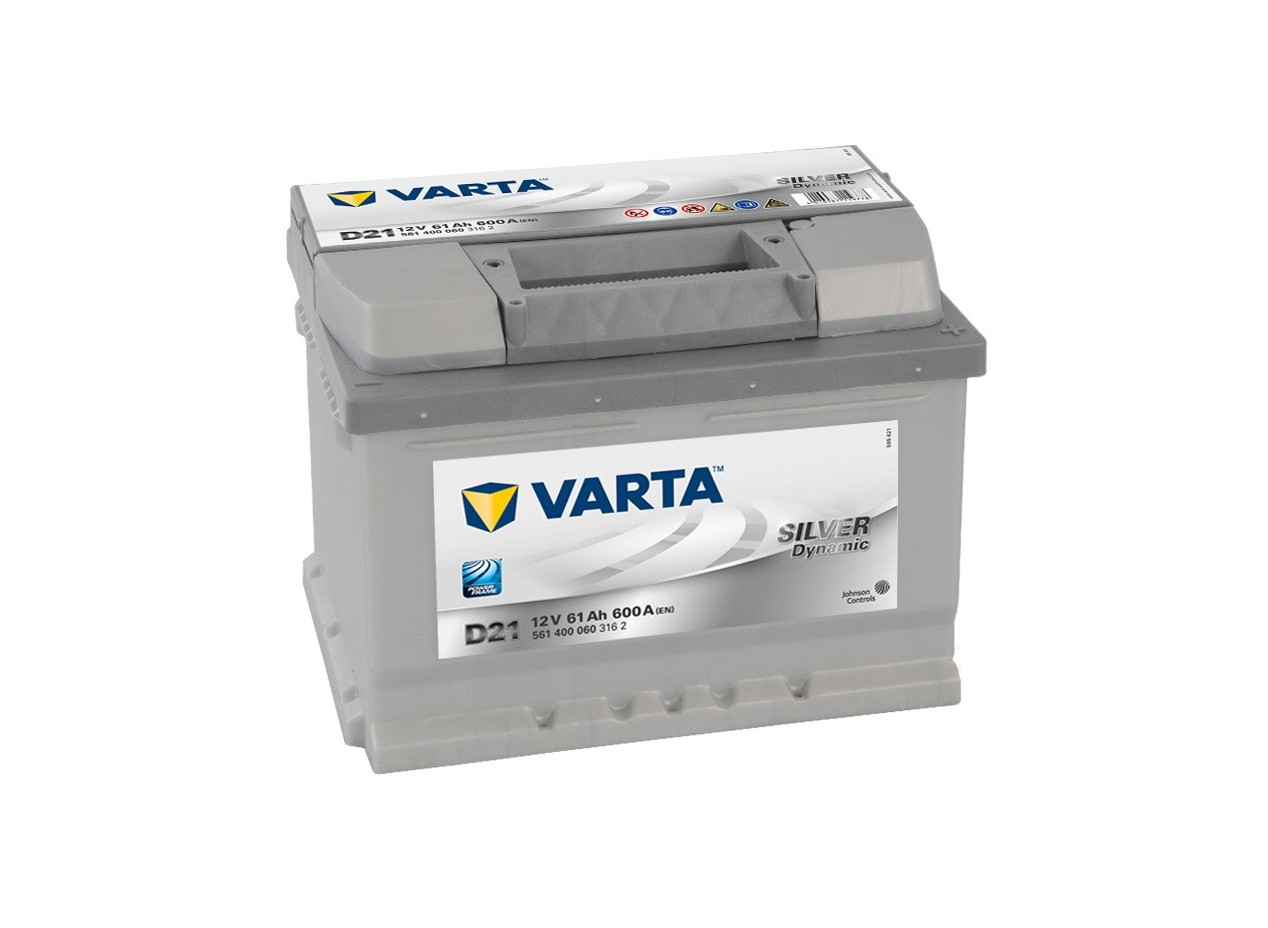 Aperçu du produit BATTERIE VARTA SILVER DYNAMIC D21 12V 61AH 600A
