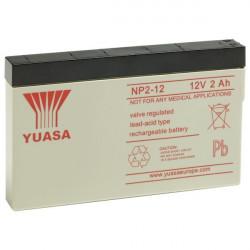 Aperçu du produit BATTERIE YUASA  NP2-12