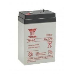Aperçu du produit BATTERIE YUASA  NP4-6