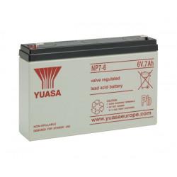 Aperçu du produit BATTERIE YUASA  NP7-6