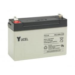 Aperçu du produit BATTERIE YUASA  YUCEL Y3.5-4