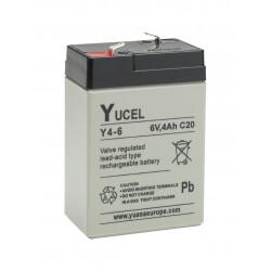 Aperçu du produit BATTERIE YUASA  YUCEL Y4-6