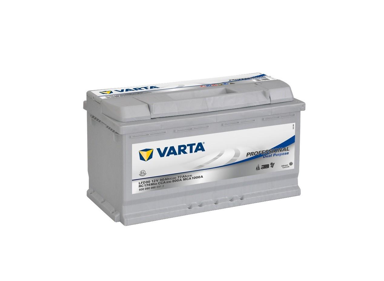 Aperçu du produit BATTERIE DECHARGE LENTE VARTA LFD90 12V 90AH 800A