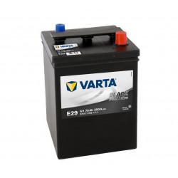 Aperçu du produit BATTERIE VARTA PROMOTIVE BLACK E29 6V 70AH 300A