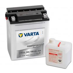 Aperçu du produit BATTERIE MOTO VARTA 12V YB14L-A2